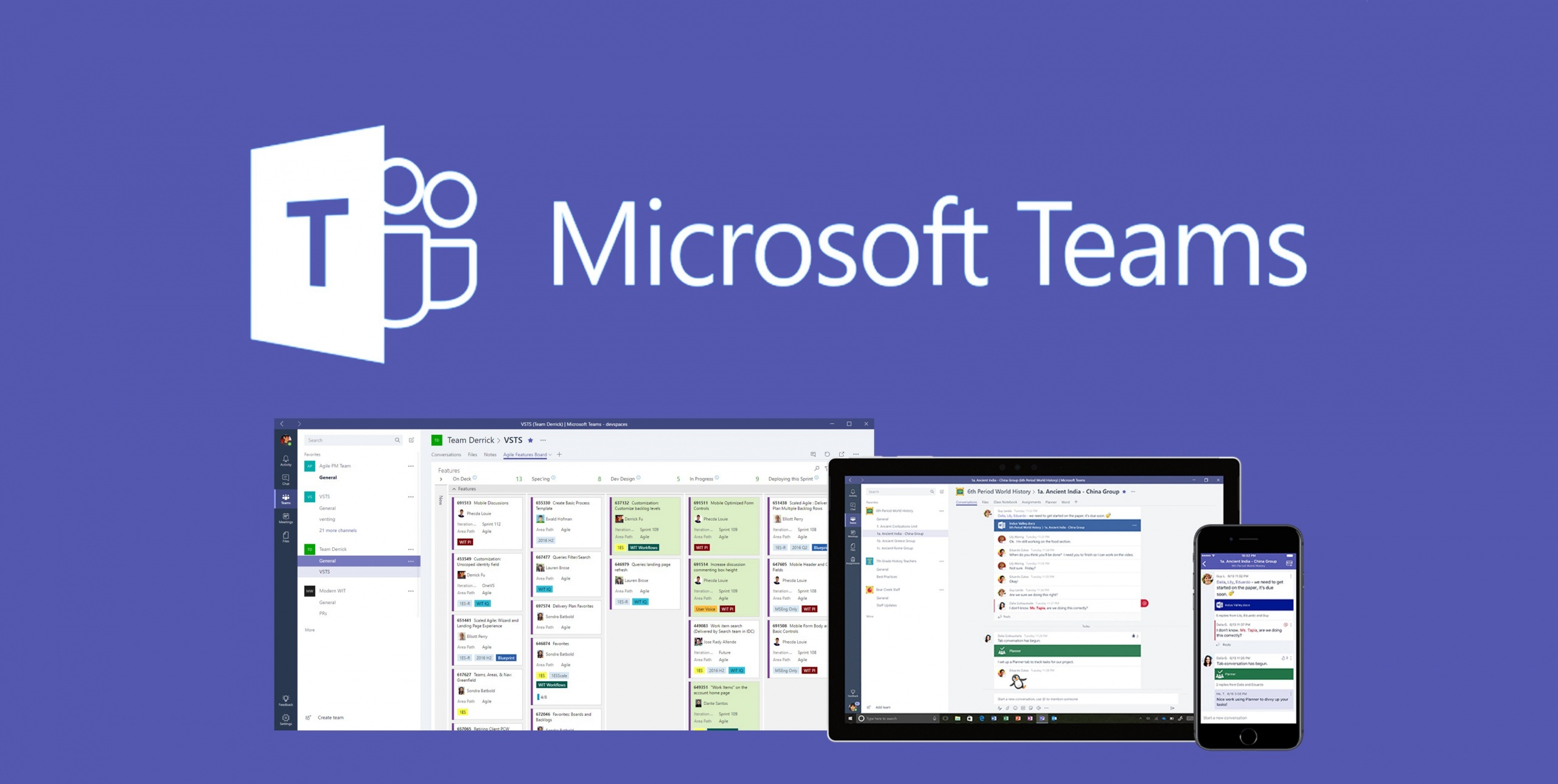 Microsoft Teams platforms